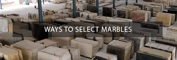 Ways to select Marble