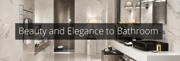 Marble to add beauty and elegance to bathroom